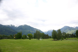 A golf course near Kaprun Austria